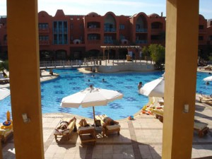 Sheraton Miramar Resort: Der Pool
