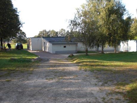 Tauchsee Horka: Hauptgebäude