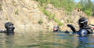 """Der Beginn des Abenteuers: das """"Open Water Diver""""-Brevet."""