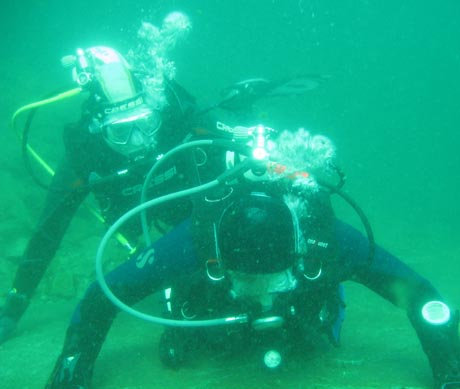 "Anderen in Not helfen: Der ""Rescue Diver""."
