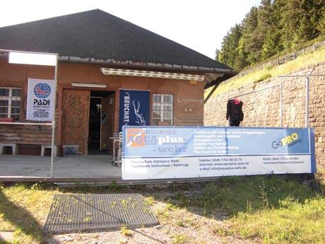 Die Tauchbasis Schluchsee ist im August Gastgeber der Beuchat Tour 2012.